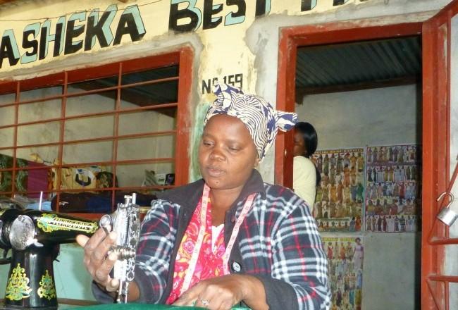 Zambia - Seamstress 1000x440