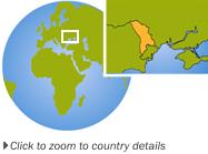 moldova globe